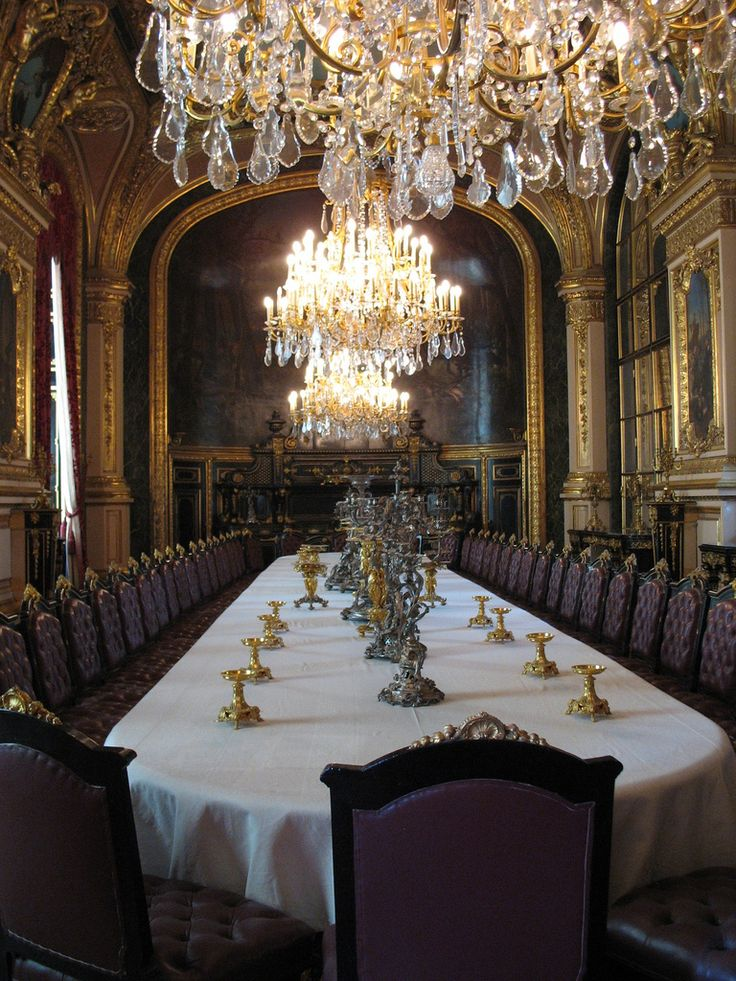 Grand Dining Room Where Nila Is Inducted Into The Hawks And Meets Brothers