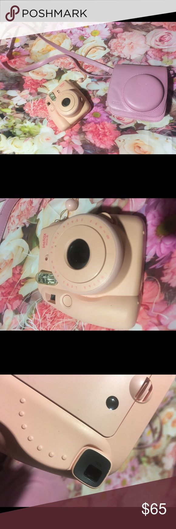 Final price ! Pink instax mini  8 camera In used working condition fuji Other