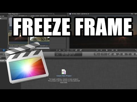 Final Cut Pro X - 48: Efecto freeze frame - YouTube