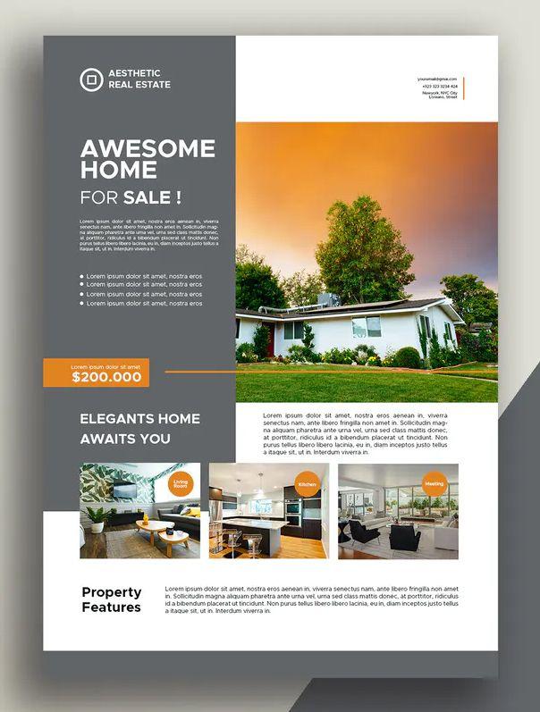 Mortgage Flyer Templates In Word Psd Indesign Illustrator En 2020 Free