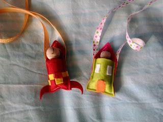 Faccio e Disfo Handmade: Don't Worry Dolls... nella calza della befana