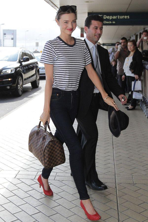 Miranda Kerr mit ihrer Louis Vuitton Speedy