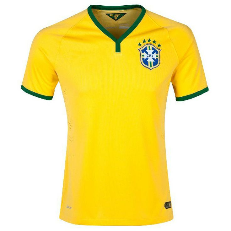 c28cee0c0 ... Colombia match at the Free shipping new 2014 Brazil World Cup Team  Brazil home football uniforms