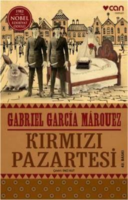 Kırmızı Pazartesi Kolombiyalı büyük yazar Gabriel García Márquez'in 1981'de yayımlanan yedinci romanı Kırmızı Pazartesi, işleneceğini herkesin bildiği, engel olmak için kimsenin bir şey yapmadığı bir namus cinayetinin öyküsü. Hem Kolombiya'da, hem de yayımlandığı dünyanın dört bir yanındaki pek çok ülkede sarsıcı etkileri olmuş bir roman. Usta yazar, çocukluğunu geçirdiği kasabada yıllar önce yaşanmış bir cinayet olayını aktarıyor