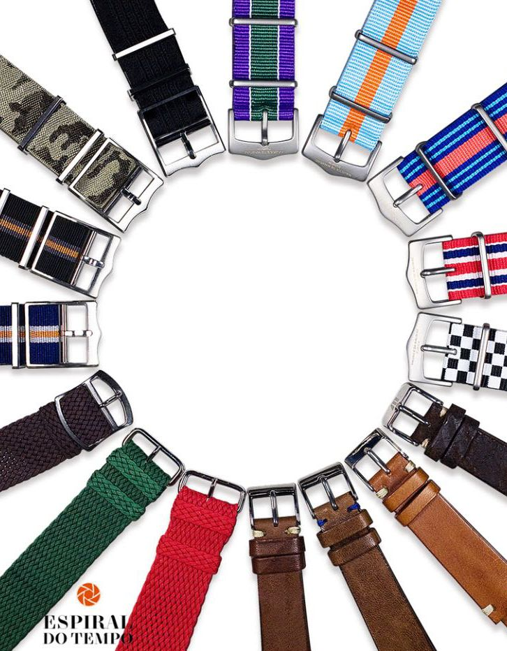 Most popular Nato straps from Swiss watchmaker Maurice de Mauriac. Luxury watches for men and women.