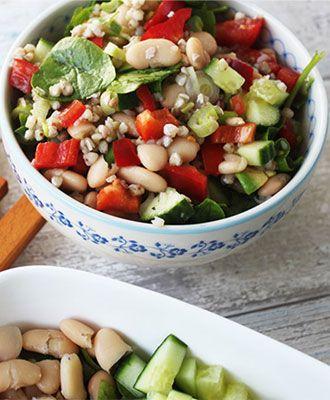 Regenboog Salade