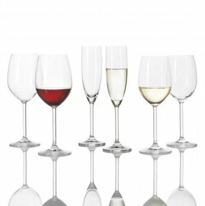 Leonardo wine glasses architecture of the wine glass Tulip millefiori sparkling white wine