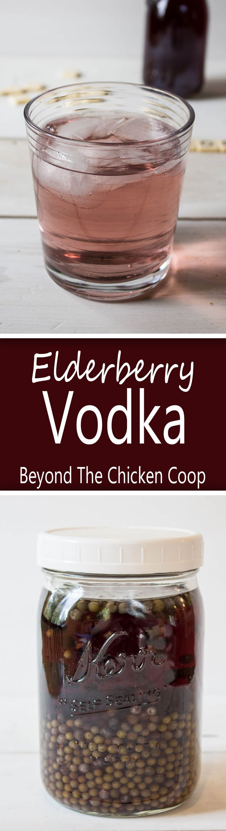Elderberry Vodka!