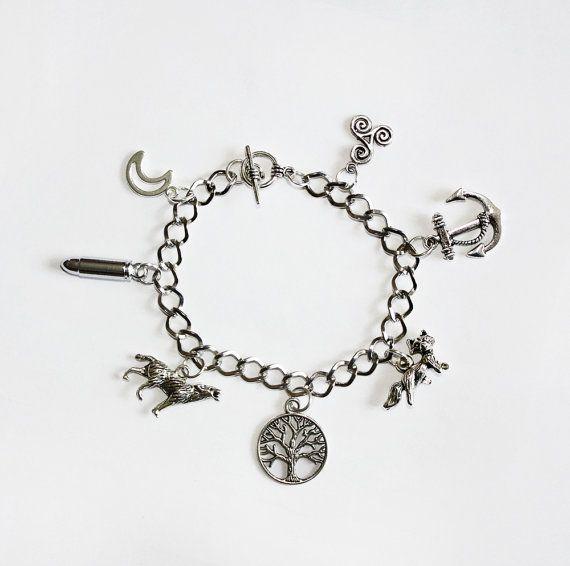 Teen Wolf Inspired Charm Bracelet please please please