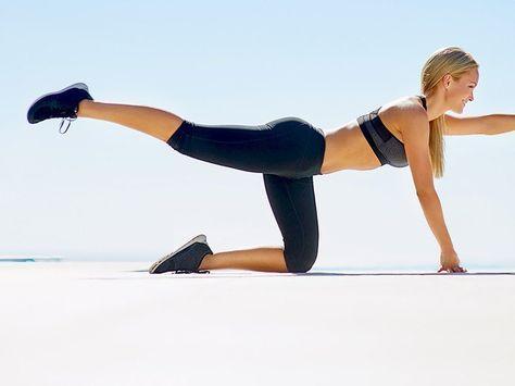 Sanduhr-Figur: Mit diesen vier einfachen Fitness-Übungen bekommt ihr einen schlanken, kurvigen Body