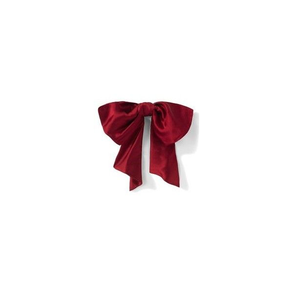 Satin bow brooch at Newport-News.com ($39) ❤ liked on Polyvore featuring bows, accessories, fillers, hair accessories and jewelry