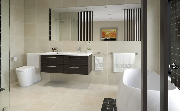Precious  - Bathroom Inspiration package at Bunnings Warehouse #oriental #openplanbirthday #oakvanity #calm #private