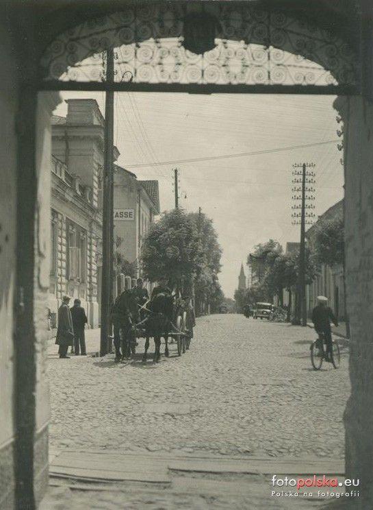 Białystok - zdjęcia niezidentyfikowane, Białystok - 1941 rok, stare zdjęcia