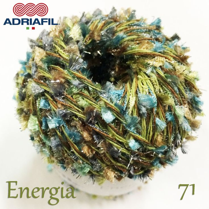 Sparkling! #Energia 71, have you tried it yet?  Don't miss all the new #Adriafil shades! Subscribe to our newsletter: http://bit.ly/AdriafilNLUK_