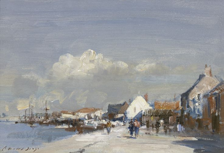 Edward Seago | Sunlit Quay