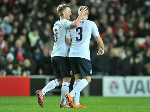 Luke Shaw and James Ward-Prowse