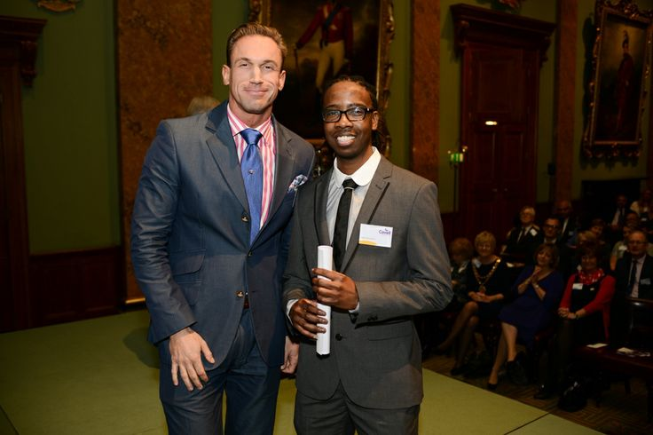 Dr Christian Jessen and Dane Thompson, our highly commended in the Community Award Category