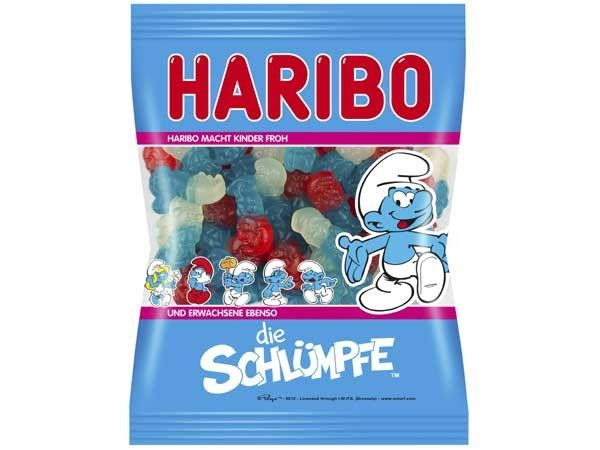 -in USA- HARIBO Smurfs - gummies - 200 g