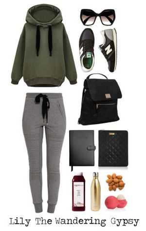 Comfy Travel Outfit Idea. This is definitely for the next long distance flight. Minus the almonds.