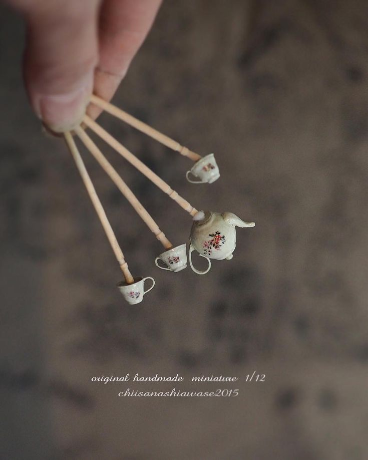 2017, Miniature Tea pot♡ ♡ By Petipetit