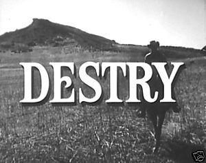 images from Destry tv series   16mm Sales Film Destry John Gavin 1960's Western TV Show Tammy Grimes ...