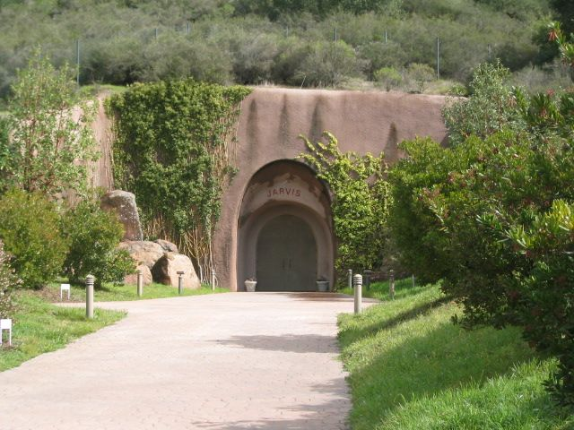 One of the most beautiful wineries we saw in Napa.  Jarvis winery in Napa, CA is built in a cave.  Their wine is very tasty too.
