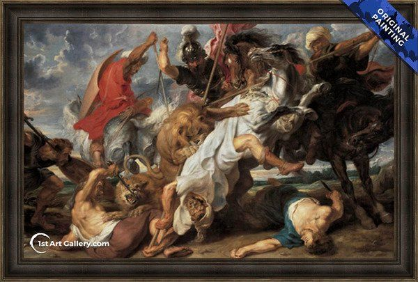 Lion Hunt C 1621 With Images Peter Paul Rubens Rubens Paintings Historical Art