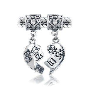 Aww. :): Dangle Beads, Big Sis, Sterling Silver, Heart Dangle, Beads Fit, 925 Sterling, Fit Pandora, Bling Jewelry, Sis Heart