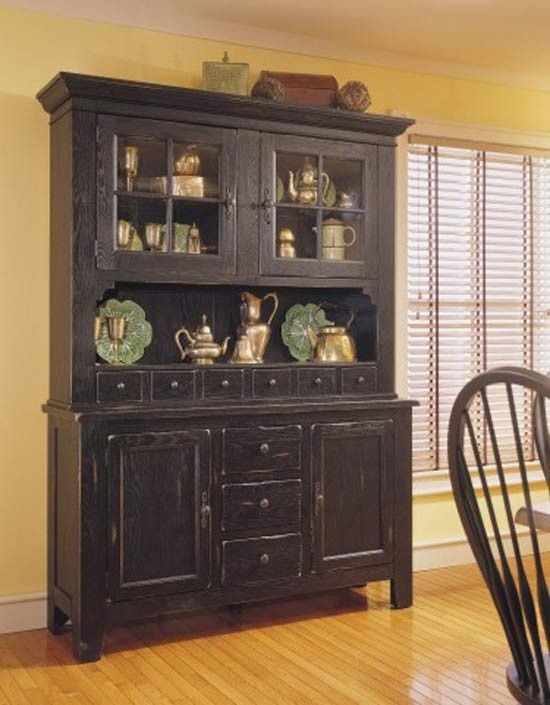 1000 Ideas About Black China Cabinets On Pinterest