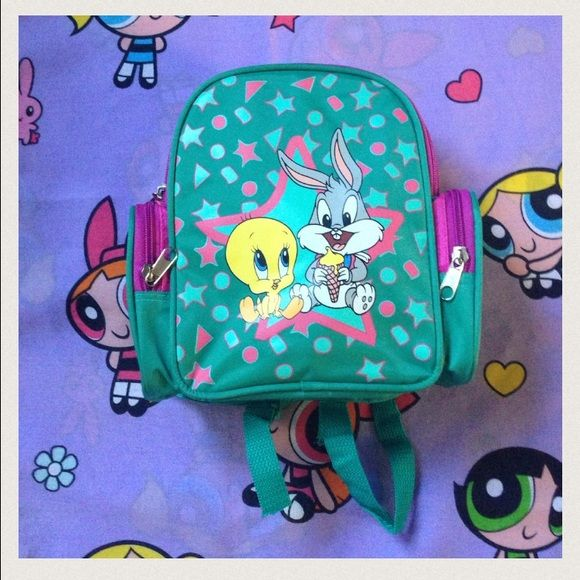 90s Mini Tweety Bird Backpack Cute mini backpack! Brand New! ^ - ^ Looney Tunes  Bags Backpacks