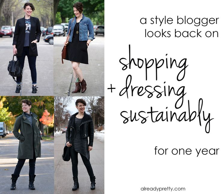 I have spent a year shopping sustainably, and it's been fascinating! Read about what I did, how I faltered, and what I learned in this post.