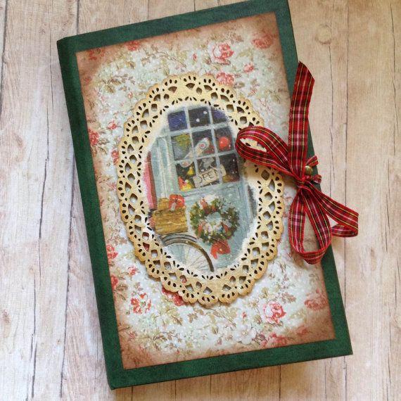 Christmas Journal. Christmas Album. by AStoryFullOfJournals