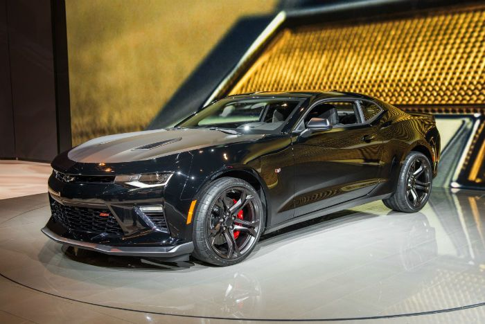 2017 Chevrolet Camaro 2SS Automatic Coupe