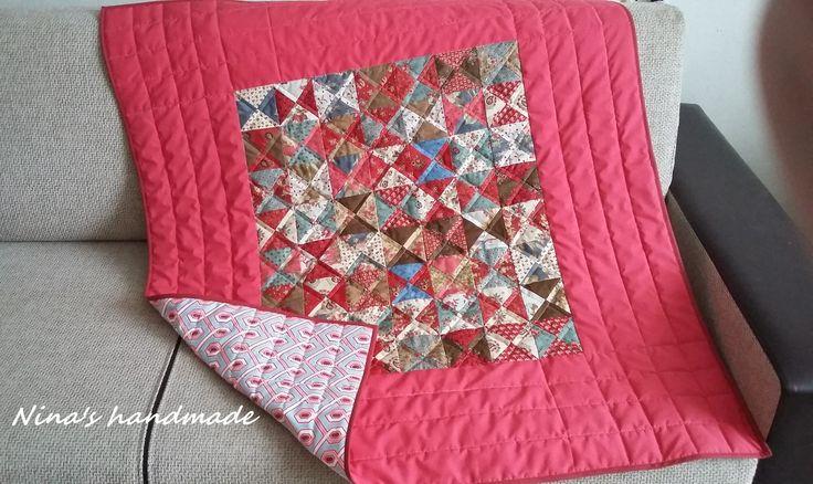 baby country quilt/ moda fabrics