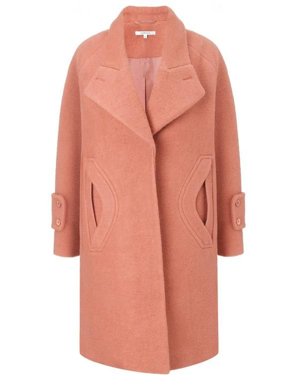 Carven Pink Coat - Best Pastel Outerwear Fall, Winter - Style.com