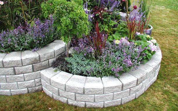 StackWall Round Garden Retaining Wall