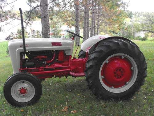 1957 Ford Jubilee Tractor