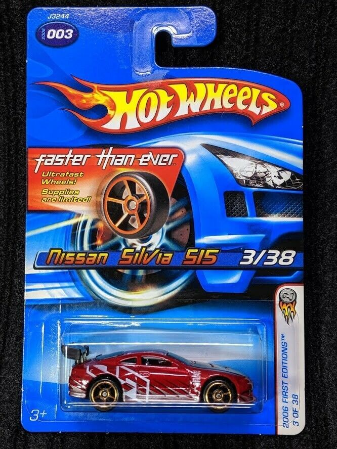 Hot Wheels Nissan Silvia S15 2006 First Editions 003 Faster Than Ever Hotwheels Nissan Hot Wheels Nissan Ebay