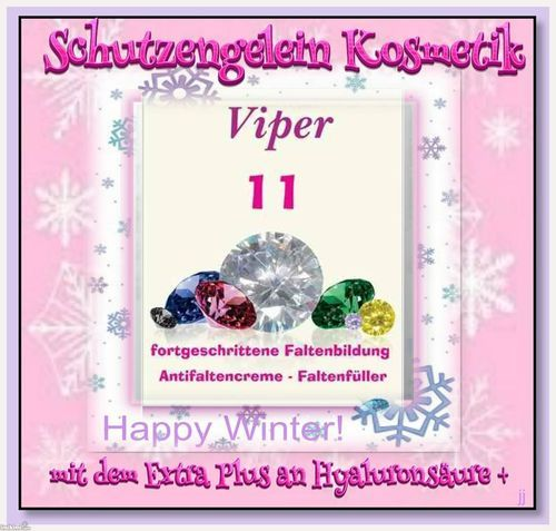Viper 11, Antifaltencreme für fettige Haut