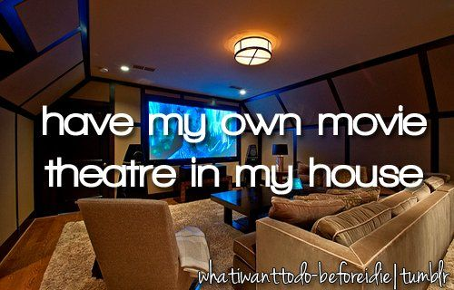 I mean I don't actually watch a lot of movies but that would still be awesome!!