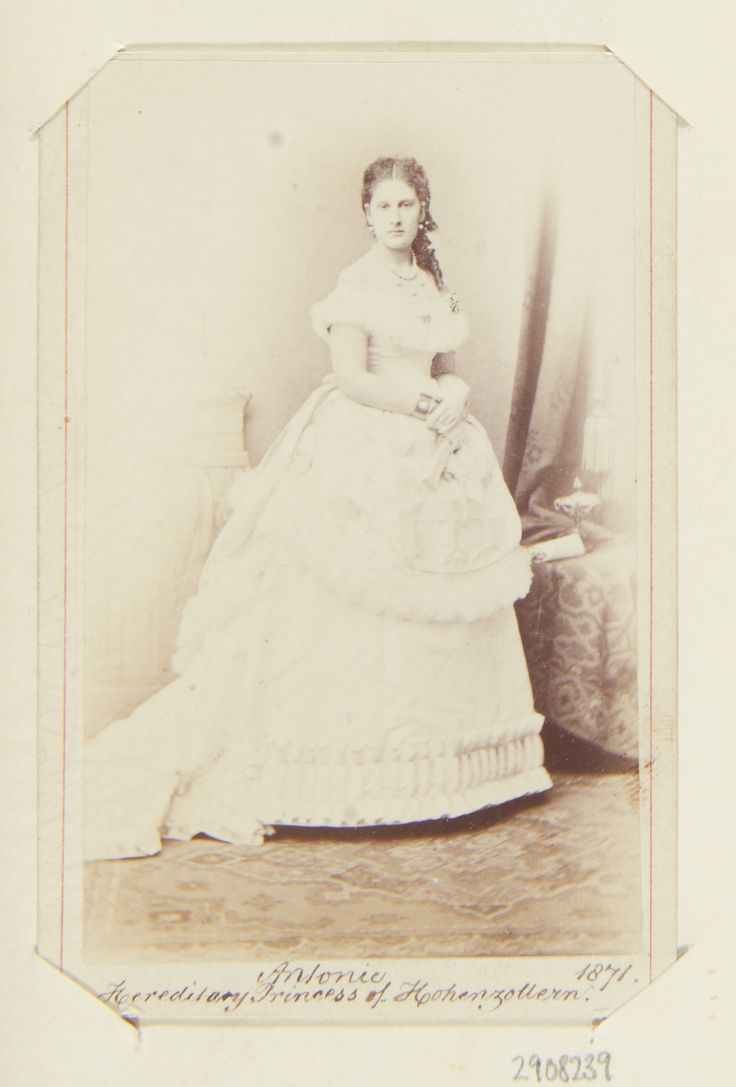 Unknown Person - Antonie, Hereditary Princess of Hohenzollern (1845-1913)
