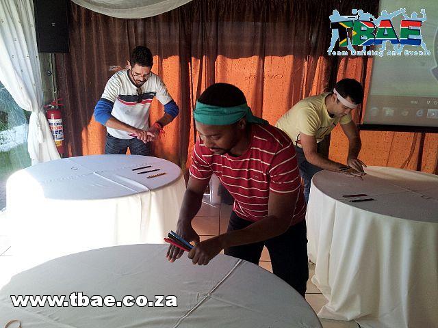Metropolitan Minute to Win it Team Building Stellenbosch