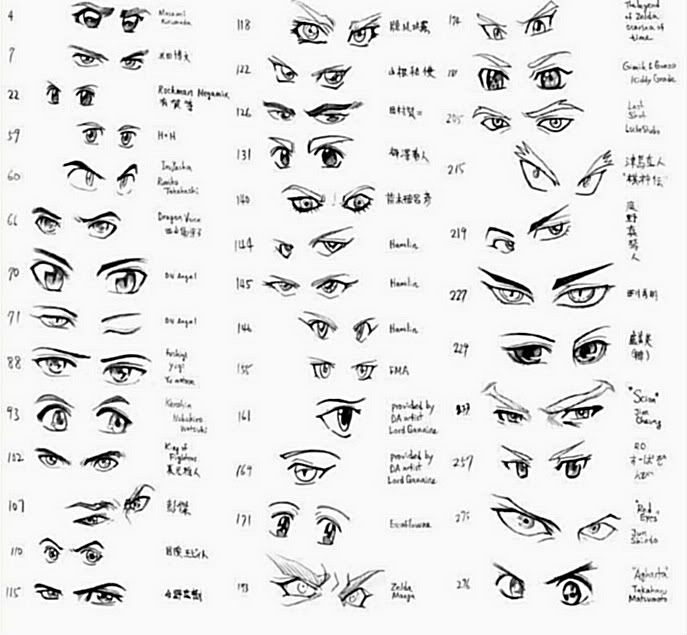 how to draw anime | anime male eyes photo Anime_Eyes ...