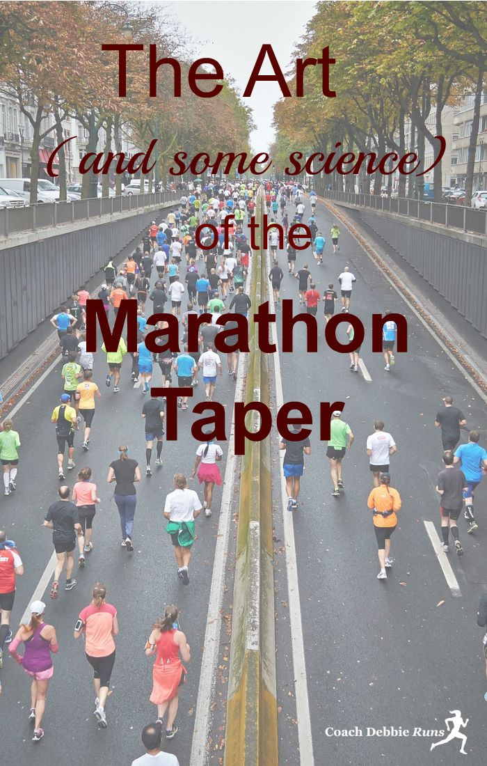 Some athletes will say that the marathon taper is the most challenging part of training. It is also a vital component to your overall marathon training.