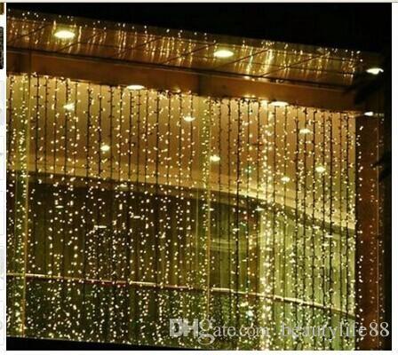 300 LED 3M 3M Curtain String Lights Garden Lamps Christmas Icicle Lights  Xmas Wedding Party Decorations 110V 250V AU US UK EU Plug. 1000  ideas about Icicle Lights Bedroom on Pinterest   White