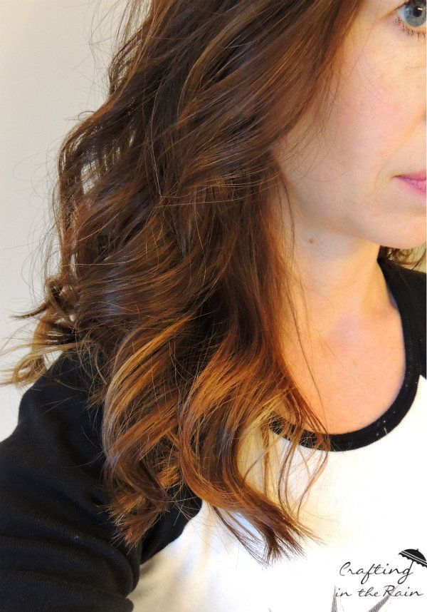 how to achieve ombre hair at home