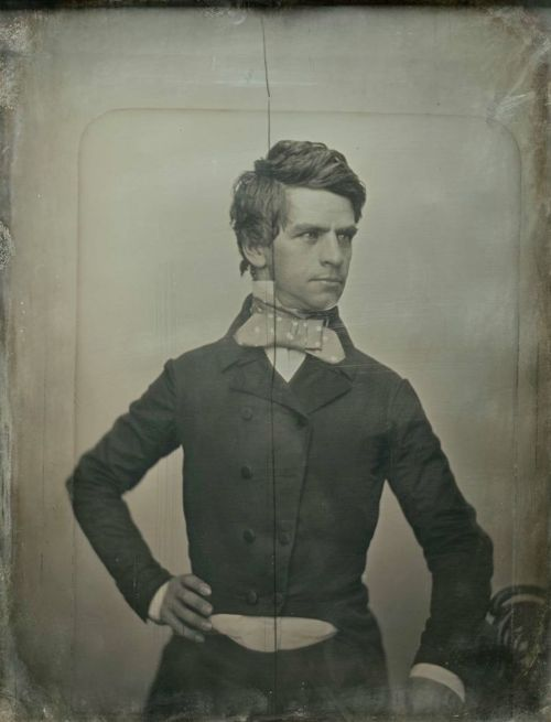 ca. 1852, Governor Nathaniel P. Banks - what a dandy! lol!