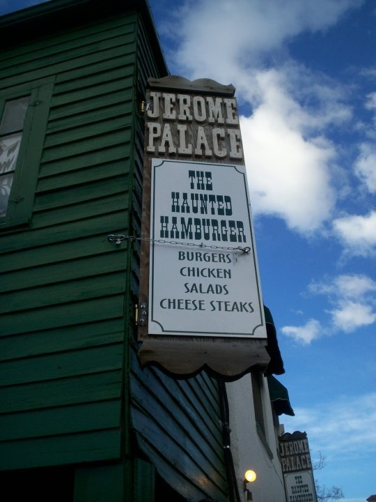 Review on The Palace Haunted Hamburger in Jerome Arizona    sheilasmeow.wordpress.com