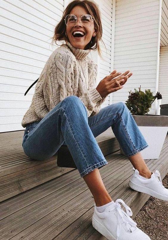15 roupas incríveis de garotas hipster para o inverno   – Frauen Outfits