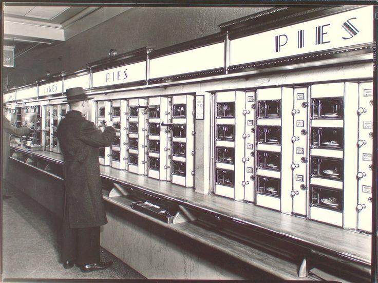 Automat, 977 Eighth Avenue, Manhattan | Photo by Berenice Abbott